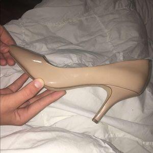 NY inc nude heels